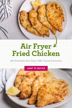 Air Fryer Fried Chicken, Air Fried Food, Fried Chicken Breast, Air Fryer Oven Recipes, Air Frier Recipes, Kickin Chicken Recipe, Chicken Recipes, Meal Service, Air Fryer Healthy