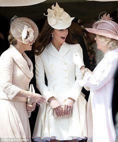Aujourd'hui, la famille royale britannique a participé à la traditionnelle cérémonie de l'Ordre de la Jarretière au château de Windsor. ...