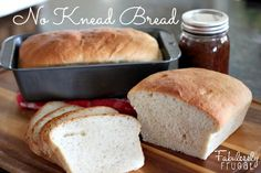 No Knead Bread | Fabulessly Frugal