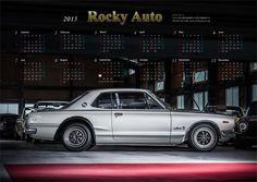 2015年 ロッキーオートカレンダー完成!!!ハコスカ GT-R KPGC10|RockyAuto Blog