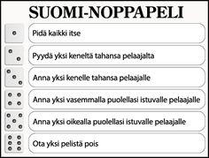 Suomi-juttuja #noppapeli #itsenäisyyspäivä #helppo #ryhmänohjaus #ryhmätoiminta #viriketoiminta #hauskanpito Bingo, Olympics, Historia