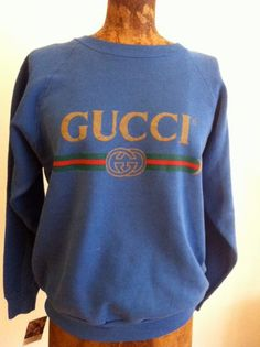 More Gucci! A super cool throwback vintage hiphop sweatshirt for only $150