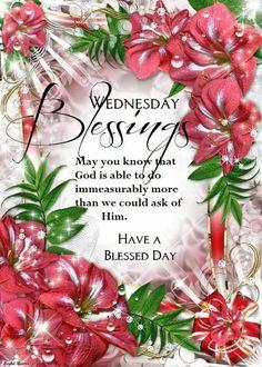 Wednesdays Blessings....