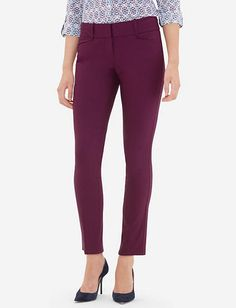 Exact Stretch Skinny Ankle Pants from TheLimited.com