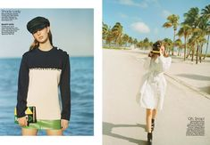 The Life Aquatic (Teen Vogue) Matteo Montanari, Shady Lady, Life Aquatic, Teen Vogue, Editorial Fashion, Sweaters, Beauty, Beautiful, Dresses