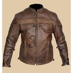 Vintage Style Cafe Racer Brown Distressed Jacket | Distressed Jackets#leatherjackets #leatherjacket #leather #leatherjacketseason #leatherjacketswag #leatherjacketweather #leatherjacketph #fashion #leatherjacketsforwomen #leatherfashion #jackets #style #leatherjacketstyle #leatherjacketlove #hoodies #leatherjacketgang #leatherjacketmurah #leatherjacketsformen #leatherjacketformen #leatherjacketpainting #leatherjacketguy #leatherpants #leatherjacketforsale #leatherjacketclub #jacket… Vintage Leather Motorcycle Jacket, Distressed Leather Jacket, Men's Leather, Types Of Jackets, Men's Coats And Jackets, Style Cafe Racer, Vintage Cafe Racer, Cafe Racer Motorcycle, Moto Bike