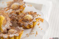 Receita de Queques de cenoura. Descubra como cozinhar Queques de cenoura de maneira prática e deliciosa com a Teleculinária!