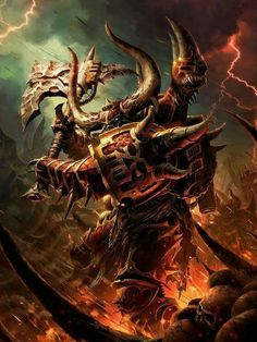 Khorne Berzerker // Unknown artist?