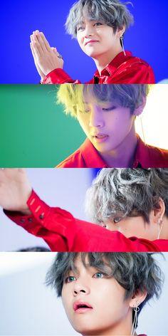 Dispatch! BTS 'DNA' MV Set Photos! #BTS #방탄소년단 #taehyung