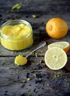 Crème au citron bergamote / Lemon curd à la bergamote / bergamot curd