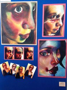 A2 Fine Art A Level Sketchbook, Gcse Art Sketchbook, Sketchbook Ideas, Portrait Art, Portraits, Higher Art, Ap Studio Art, A Level Art, Portfolio Ideas