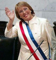Felicitaciones Michelle Bachelet...nueva Presidente de Chile...