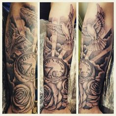 Angel chest tattoo fresh tattoos pinterest angels for Chest mural tattoos