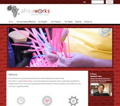 Africa Works Website