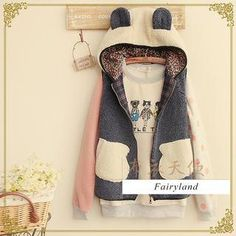 Buy 'Fairyland – Hooded Fleece Vest with Ear Accents' with Free International Shipping at YesStyle.com. Browse and shop for thousands of Asian fashion items from China and more!
