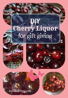 Cherry Liqueur from Joy-bilee Farm.
