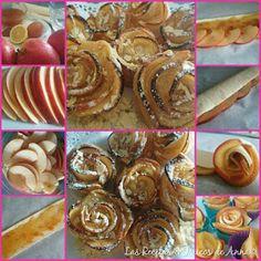 Las Recetas & Trucos de Anna: Conocidísimas Rosas De Manzana! En 10 Min!