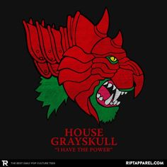 House of Grayskull (He-Man, Masters of the Universe, Battle Cat, Game of Thrones, GoT)