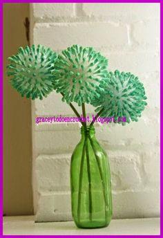 Different and inexpensive decoration for your home...Diferente y barato adorno para su hogar!