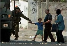 Israelis kidnap children right in front of their parents. :-( The children are so scared to death because, they know they are going to be tortured and killed. Israelis us Americans money to do it.