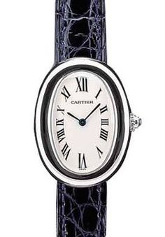 Cartier Baignoire 18kt White Gold Lady's Watch W1516856 ,cheap Cartier Watches discount