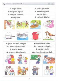 Albumarchívum Autism Activities, Prep School, Album, Teaching, Comics, Books, Archive, Worksheets, Learn Languages