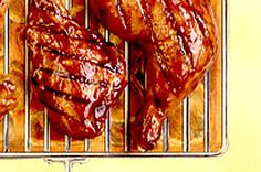 This barbecued chicken is a summer classic - golden-brown on the outside, tender and juicy on the inside. Try our KRAFT Extra Rich BBQ Chicken - it& a cinch with our recipe. Roast Chicken Dinner, Barbecue Chicken, Marinated Chicken, Grilled Chicken, Baked Chicken, Chicken Recipes, Balsamic Dressing, Chicken And Vegetables, What To Cook