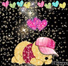 Winnie The Pooh Gif, Winnie The Pooh Pictures, Love Is Cartoon, Cartoon Clip, Mickey Mouse Kunst, Thomas Kinkade Disney, Love Bears All Things, Good Night Gif, Cute Teddy Bears