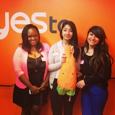 A day in the life of Yes to: Junior Achievements are joining us today to shadow what we do here at Yes to!