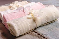 Detské deky, zavinovačky, svetríky, vankúšiky