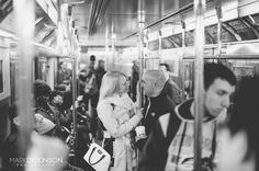 One of my favorite places in the world is large cities such as #NewYorkCity #nyc. There's just something about this place that draws me in. It must be the mass transit masses of people and so much diversity. But whatever the reason is I always seem to find amazing photos and yummy food  when I make it up. #engaged #Engagement #MexicoWedding #Subway #StreetPhotography #Love #Photographer #Photography