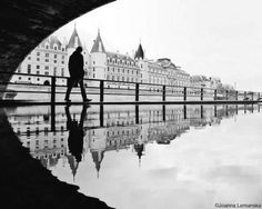 Serene City Reflection Photography - Joanna Lemanska Captured the City of Paris Through Reflections (GALLERY)