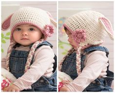 50 Free Adorable Baby Crochet Hat Patterns