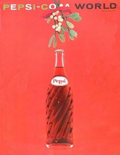 cMag188 - Pepsi-Cola World Magazine cover by Milton Glaser / December 1961