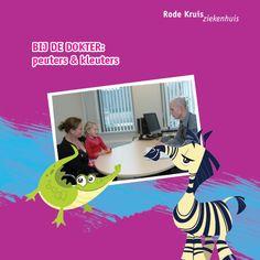 online prentenboek Bij de dokter Kindergarten, Childcare, Kids Playing, Sick, School, Teaching, Movie Posters, Boys Playing, Child Care