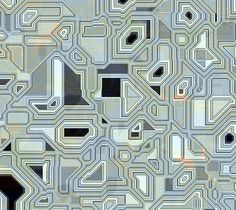 Abstract texture that suggest electronics, computer chips, or wiring.