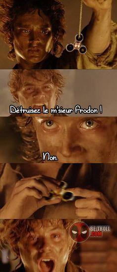 Détruisez le m'sieur Frodon... - Be-troll - vidéos humour, actualité insolite