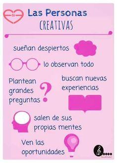 Personas creativas...