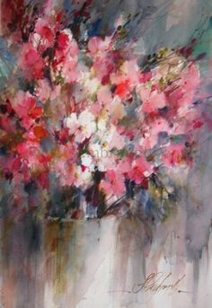 Flowers, Sec Vers., painting by artist Fabio Cembranelli