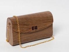 Wooden Bags - Walnut. Handbag. Clutch Bag. Wood.