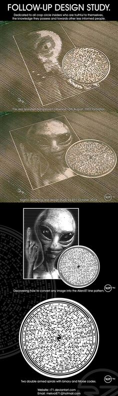 PARTAGE OF REPORT A CROP CIRCLE FORMATION.........ON FACEBOOK............