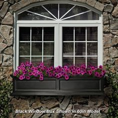 """Mayne Inc. 48"""" Fairfield Window Box.    That's just my window and just my size!"""