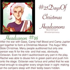 Christmas Headcanon 16