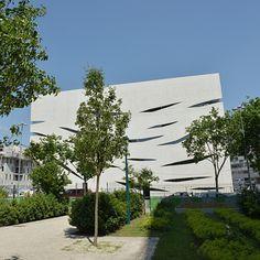 Espace Aimé Césaire/ France - Architecte Rudy Ricciotti