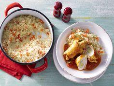 Leckeres Essen für die ganze Familie: Gefüllte Putenröllchen in Tomatensauce - smarter - Kalorien: 593 Kcal - Zeit: 30 Min. | eatsmarter.de
