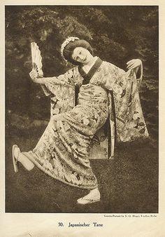 •Anna Pavlova  Japanese dance
