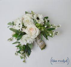 Wedding Bouquet, Silk Bouquet, Silk Flowers, Floral Arrangement, Peony Bouquet…