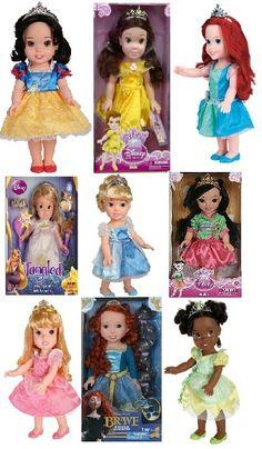 "New 9 My First Disney Princess Baby Dolls 15"" and 4 Royal Pajamas and Dress Set   eBay"