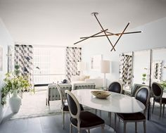 Dining Room design ideas and photos to inspire your next home decor project or remodel. Check out Dining Room photo galleries full of ideas for your home, apartment or office. Decor, Room, Room Design, Interior, Dining Room Design, Home Decor, Interior Design, Tulip Table, Modern Ceiling Light Fixtures