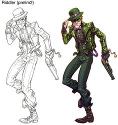 Now that's one cool Riddler...!!!